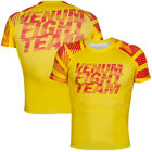 Venum Speed Urban Camo Short Sleeve MMA Rashguard - Yellow
