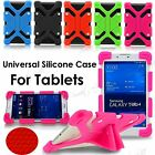 """kids Universal Silicone Stand Cover Case Holder For 7""""-12"""" Android Tablet iPad"""