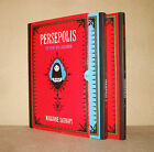 PERSEPOLIS 1 & 2 Box Set Marjane Satrapi Story of a Childhood, Story of a Return