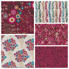 *CLEARANCE* PATCHWORK FABRIC 100% COTTON - MAKOWER AURELIA - CHOICE OF 5 DESIGNS