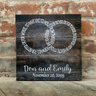 WEDDING Canvas, PERSONALIZED, Rustic Love for Infinity, BEST Christmas Gift