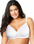 Playtex Cross Your Heart Lightly Lined Wirefree Bra Women's Lifts Supports Women