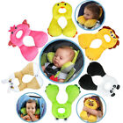 Kids Cartoon Neck Safety Travel Pillow U-Shape Memory Seat Relax Pillow 1-4Years