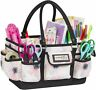 Craft&Sewing Tote Clear Durable Plastic Painting Scissors Crayons Drawing Beding