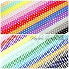 Fold Over Elastic - Printed 5/8 inch - Chevron and Polka Dot