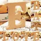 10cm Free Standing Smooth Wooden 26 Letters A- -Z Alphabet Wedding Party Decor