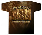 Native American Original Homeland Security Design Sublimation T Shirt #1404