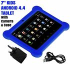 7  KIDS ANDROID 4.4 TABLET PC QUAD CORE WIFI Camera UK STOCK CHILD CHILDREN UK