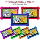 7? KIDS ANDROID 4.4 TABLET PC QUAD CORE WIFI Camera UK STOCK CHILD CHILDREN UK