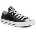 Converse - All Star Ox - Black / White - Low Leather - 132174C - Trainers