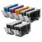 NEW 7pk PGI-220 CLI-221 Printer Ink Cartridge for Canon