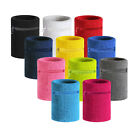 HÖTER Premium Sports Thick Solid Color Wristband with Zipper / Wrist Wallet