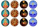 Diwali Festival Of Lights Fairy / Cup Cake Toppers  Rice Paper or Icing
