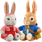 Talking Peter Rabbit or Lily Bobtail Soft Toy 24cm T.V. Series CBeebies