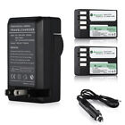 D-Li109 Battery + Travel and Car Charger for Pentax K-R K-30 K-50 K-500 KR K30