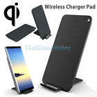 2-Coil Qi Wireless Charger Charging Stand Pad for iPhone 8 Samsung Note 8 S8 LG