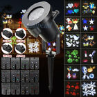 12Pattern Waterproof LED Moving Laser Projector Stage Light Christmas Halloween