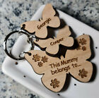 PERSONALISED MOTHERS DAY BIRTHDAY GIFT BUTTERFLY KEYRING MUM NAN MUMMY CHRISTMAS