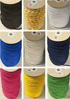 4mm POLYESTER CORD CHOICE OF COLOURS AND LENGTHS HOODIES/CRAFTS FREE UK POSTAGE
