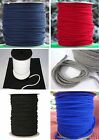 Drawstring Cord Replacement Cord For Hoodies Sweatpants 6mm Acrylic 6 Colours
