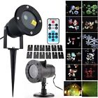 Outdoor RG Laser Light Garden LED Projector Dynamic Moving Xmas Party Stage KTV