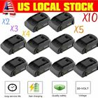 LOT 20V Rechargeable Power Tool Battery Replacement For W...