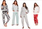 Loungeable Womens Pyjamas Soft Fleece Jumpsuit Twosie Hooded Ladies Loungewear