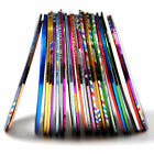 58pcs Mixed Colours Pretty Rolls Striping Tape Line Nail Art Decoration Sticker