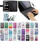 """For Asus ZenPad 10 Z300 10.1"""" USB Andriod Tablet Keyboard Case Cover Flip Stand"""