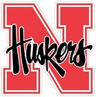 Nebraska Huskers Cornhuskers Vinyl Sticker Decal *sizes* Cornholebumper