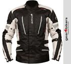 SALE Buffalo Cyclone Motorcycle Jacket Stone Waterproof Touring Scooter Commuter