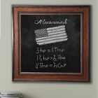 Darby Home Co Country Pine Wall Mounted Chalkboard