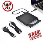 LOT USB 2.0 External DVD ROM Combo CD±RW CD-ROM Burner Drive +2x Cable for PC SK