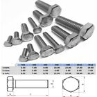 Hex Set Screw M5 M6 M8 M10 M12 Bolt Stainless Steel 304 Metric Coarse
