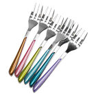 Amefa Metallic Stainless Steel Pastry Forks Afternoon Tea Cake Dessert Pudding
