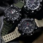 SMAEL Men Military Digital Shock Quartz Watch Dual Time Waterproof Army Sport US image