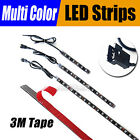 Addmotor 4/8/12-Inch 6/12/18 LED Light Strips Motorcycle Waterproof Multi-color
