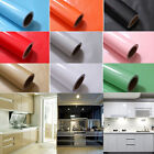 New Self Adhesive Contact Paper Cupboard Door Cover Film Decor Vinyl Wallpaper