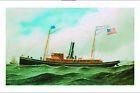 "ANTONIO JACOBSEN ""Storm King"" ship print PAPER or CANVAS various SIZES, NEW"