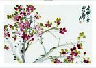 "WU CHANGSHUO ""Flowers"" Chinese CANVAS OR PAPER, from 55cm upwards, NEW"