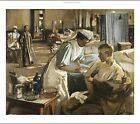 JOHN LAVERY The First Wounded, London Hospital NURSE injured CANVAS or PAPER!