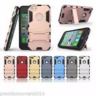 Hybrid Defender Apple Iphone 6  6s Back Case cover + KickStand + Dual Shield