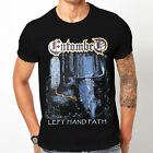 New 1ENTOMBED LEFT HAND PATH Men's New Fashion Short Sleeve Cotton T-Shirt