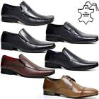 Kyпить MENS LEATHER SHOES NEW SLIP ON ITALIAN SMART FORMAL WEDDING OFFICE SHOES SIZE на еВаy.соm