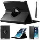 New iPad Case 360 Rotating Stand Flip Cover For iPad 234 Mini Air 2017 9.7&quot; 10.5 <br/> FREE STYLUS + FREE SCREEN PROTECTOR + FREE EU DELIVERY