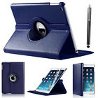 iPad Case 360 Rotating Stand Flip Cover Fit For iPad 234 Mini Air 2017 9.7&quot; 10.5 <br/> FREE STYLUS + FREE SCREEN PROTECTOR + FREE EU DELIVERY
