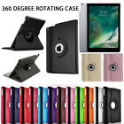 New iPad Case 360 Rotating Stand Flip Cover For iPad 234 Mini Air 2017 9.7