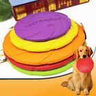 Dog Frisbee Rubber Flying Disc Tooth Resistant Training Fetch Pet Toy Creative
