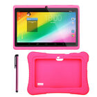 7'' Tablet 16GB Quad Core HD KitKat Dual Camera WiFi Android 4.4 for Kids Gift