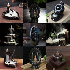 Buddhist Incense Smoke Backflow Ceramic Censer Cone Stick Holder Incense Burner
